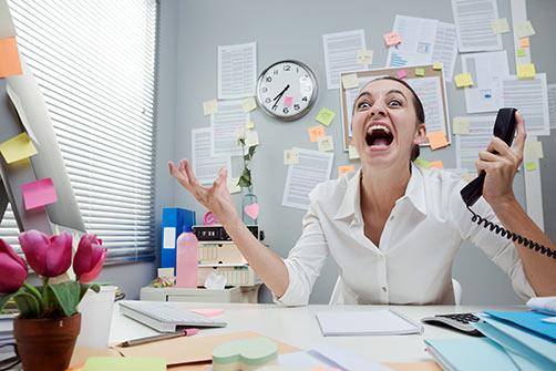 Crazy Office Lady