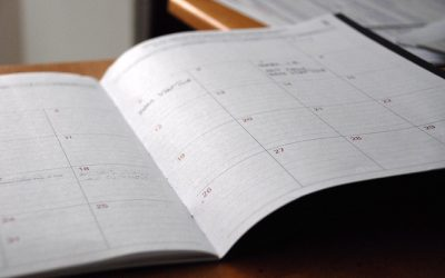 Creating a Workable Schedule and Sticking to It