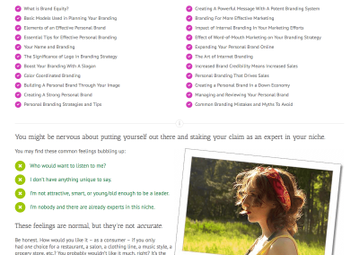 Sales Page Design – Personal Branding Masterclass (Rock Your Star Power)